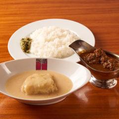 極辛カレーライスとロールキャベツシチュー ¥1350税込